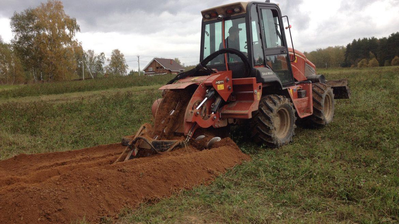 Приобретено производительное землеройное оборудование